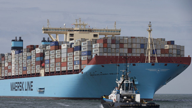 Danske virksomheders salg i udlandet falder på sjette måned
