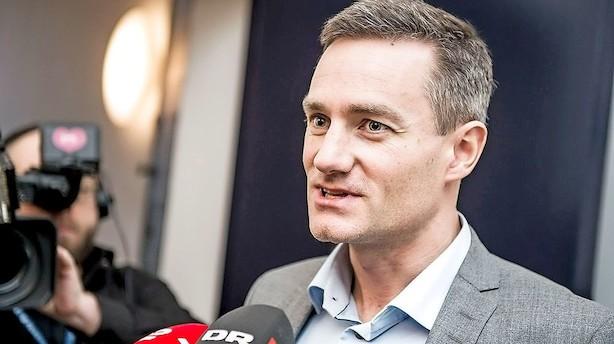 Løkke rykker hurtigt: Rasmus Jarlov er ny erhvervsminister