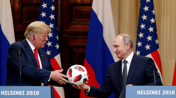 Putin nægter pure indblanding i valg over for Trump