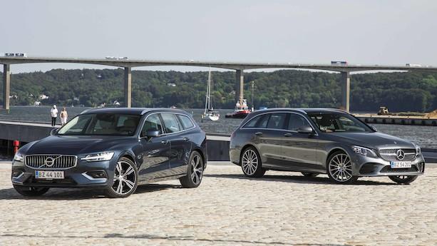 Duel: Elegante Volvo V60 udfordrer kongen af firmabilerne