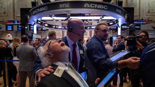 Trump giver centralbank skylden for stort aktiedyk i USA