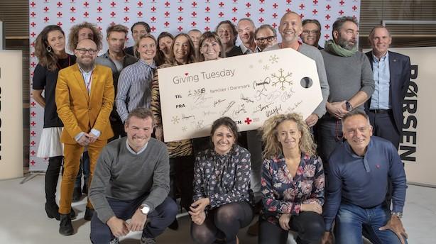 Erhvervsfolk rev en dag ud af kalenderen og ringede en million kroner ind til julehjælp