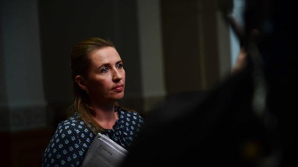 """Mette F genåbner forhandlinger: """"Nu skal vi diskutere de svære spørgsmål"""""""