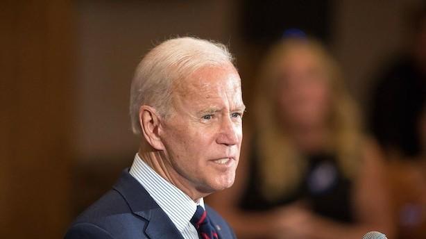 Biden: Trump er skyldig og bør stilles for en rigsret