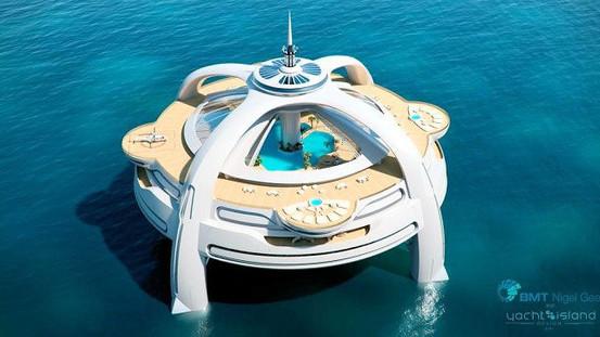 Nye skattely bliver flydende luksus-øer