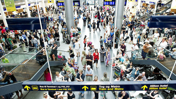 Københavns Lufthavnes aktie i stort spring efter ATP-køb