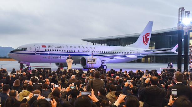 Kinesisk Boeing-fly går på vingerne midt under våbenhvile mellem USA og Kina