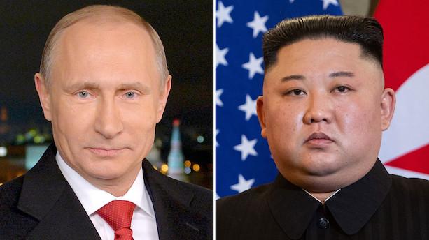 Professor: Putin og Kims møde presser USA i atomforhandlinger