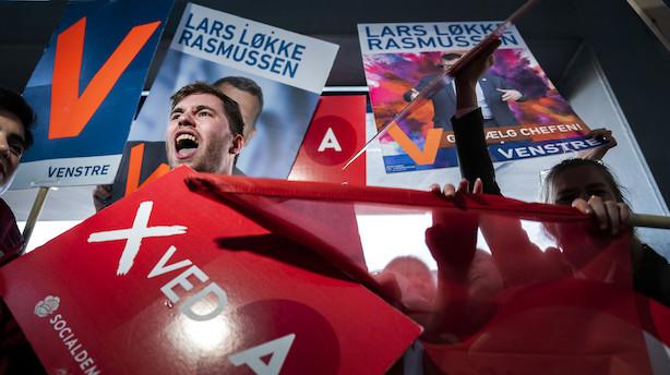 Angrebene fløj gennem luften i den sidste duel inden valget: