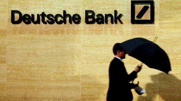Deutsche Bank starter nedlæggelse af 18.000 arbejdspladser