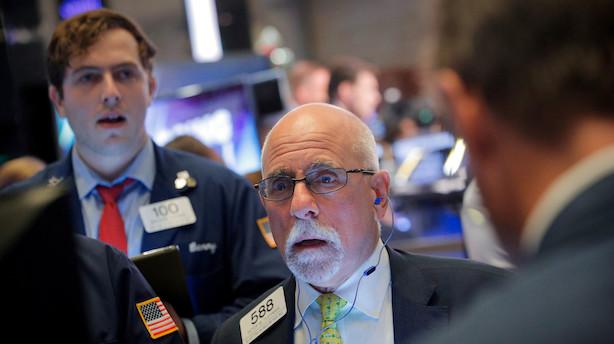 Aktieåbning i USA: Teknologiaktier til tælling på rødt Wall Street