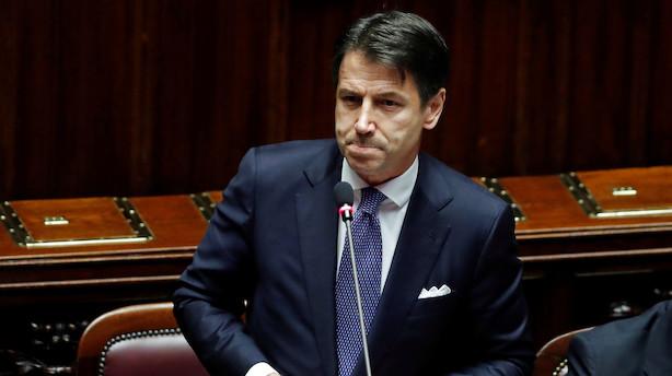 Italien: Ny regeringskoalition vil løfte underskudsmål for 2020