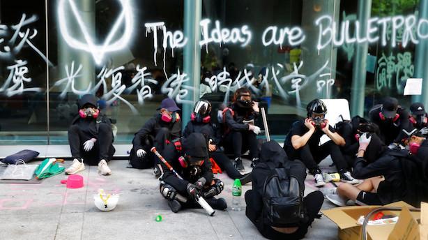 Hongkongs højesteret: Maskeringsforbud strider mod forfatning