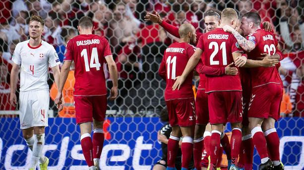 Danmark vinder EM-lodtrækning og får tre kampe i Parken