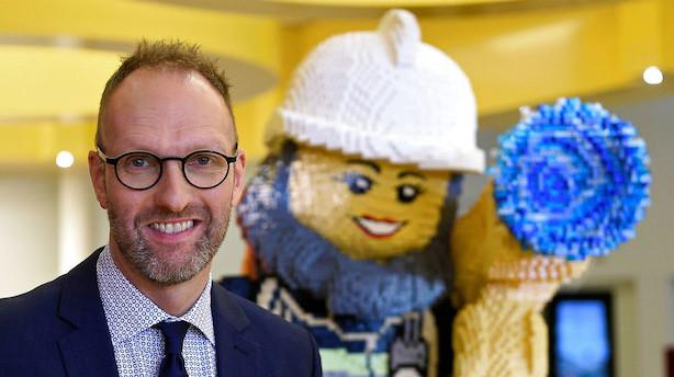 Jørgen Vig Knudstorp: Ny Lego-direktør brænder for klodser