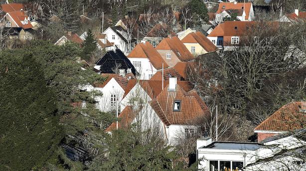 Huspriserne er nu over finanskrise-niveau i 17 kommuner