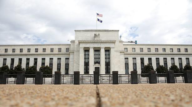 USA's centralbank tæt på beslutning om kvantitative stramninger
