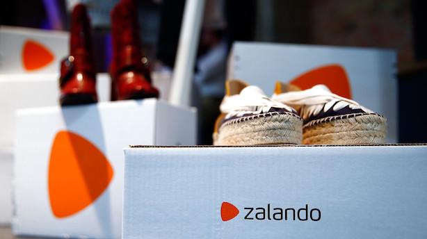Zalando-aktien skyder op efter overraskende overskud i første kvartal