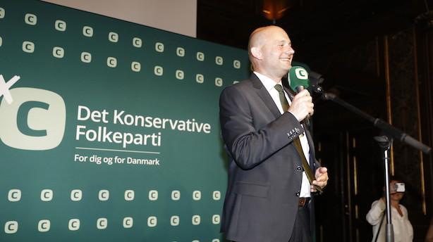 Pape fik knap ni ud af ti konservative stemmer i Viborg