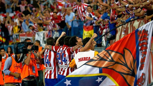 Atlético øjner drømme-sæson inden Chelsea-kamp