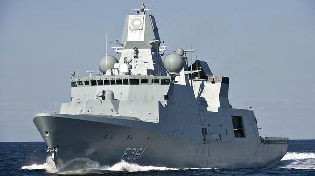 Danmark vil sælge Australien krigsskibe for milliarder