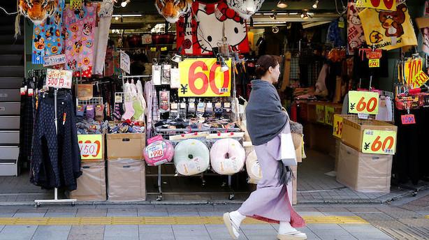Japan: Oktobers betalingsoverskud blev lidt højere end ventet