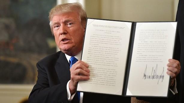 USA anerkender Jerusalem som hovedstad og flytter ambassade