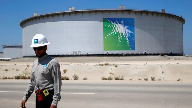 Saudi Aramco-banker lufter muligheden for udbyttebetalinger på mere end 100 mia dollar