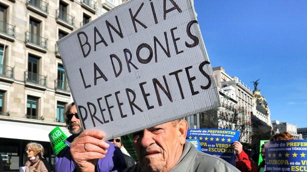 296 milliarder på vej til spanske banker
