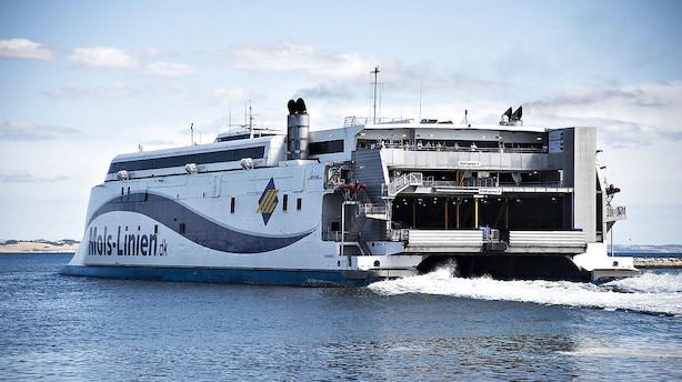 Mols-Linien vinder ruter til Bornholm  - aktien brager op