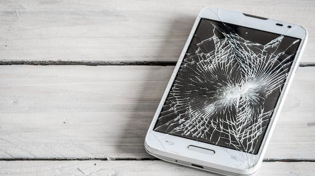Din næste smartphone får superglas