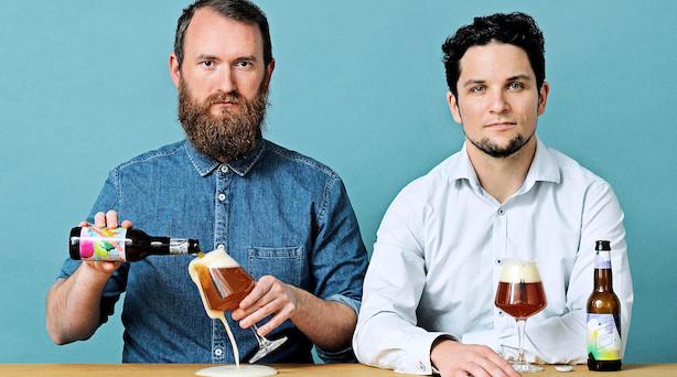 """""""Vokseværk"""" for dansk bryggerduo - dyrkes som rockstjerner i Sverige"""