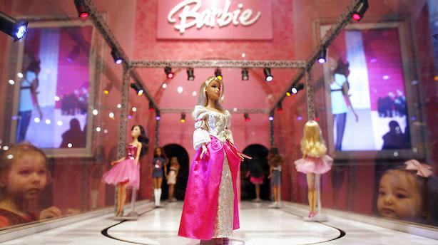 Firmaet bag Barbie lyste op i svingende amerikansk marked
