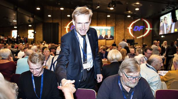 Kristian Thulesen Dahl på talerstolen: Du kender mit telefonnummer, Mette Frederiksen