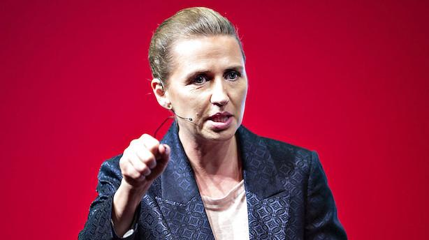"""Mette Frederiksen: """"Det er fornuftigt, at hjælpe nogle af de flygtninge, der er i Danmark, ind på arbejdsmarkedet"""""""