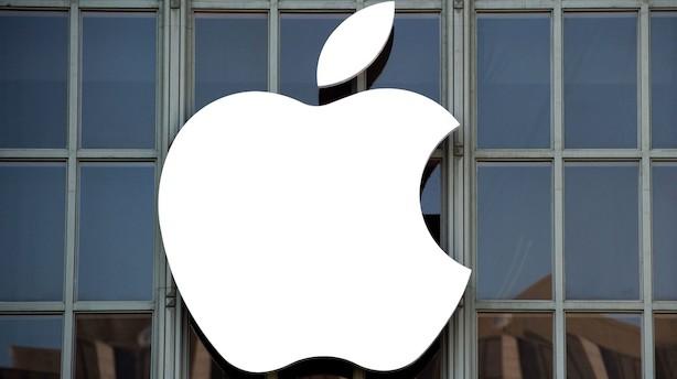 Først faldt de amerikanske aktier dybt - så kom de godt igen: Apple endte 0,7 pct. oppe
