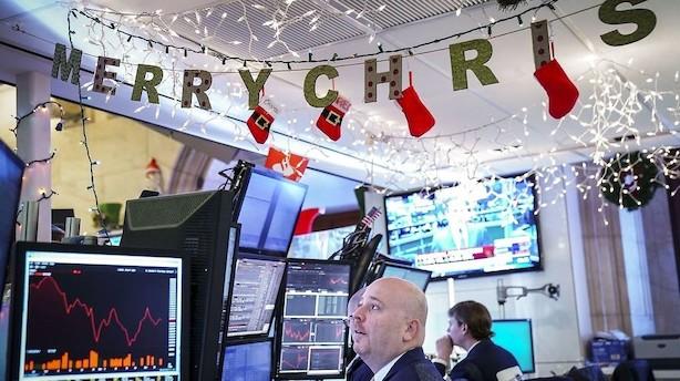 Aktier: Asiatiske kursfald efter drop på Wall Street i juletyndt marked