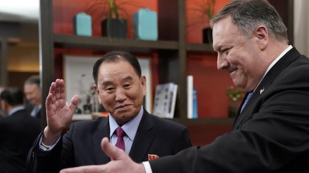 Trump skal drøfte nedrustning med Kim Jong-uns højre hånd