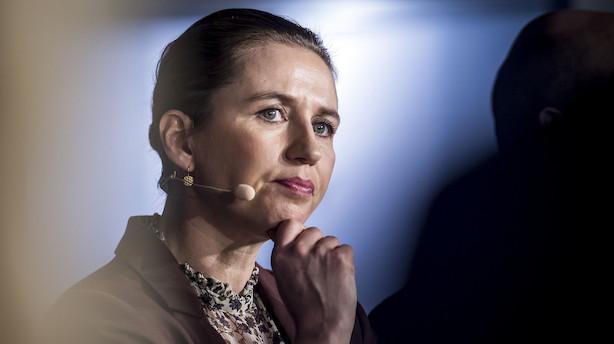 Ny måling: Mette F. har måske slet ikke brug for Elbæk