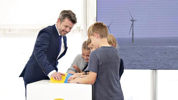 Danmarks største havmøllepark er åbnet