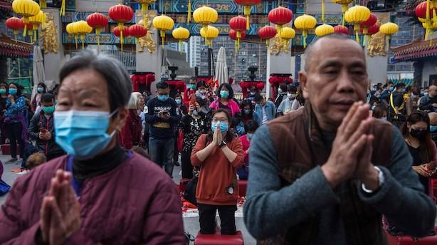 Hongkong aflyser nytårsfejringer under alvorligt virusudbrud: Det er en nødsituation