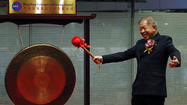 Aktier: Fjernøsten stiger uden Japan