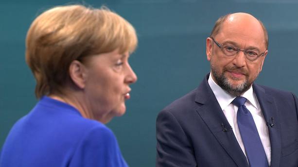 Tyske vælgere klumper sig sammen på midten