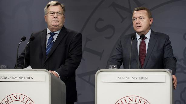 Regeringen vil øge Forsvarets cybermuskler med 900 mio kr