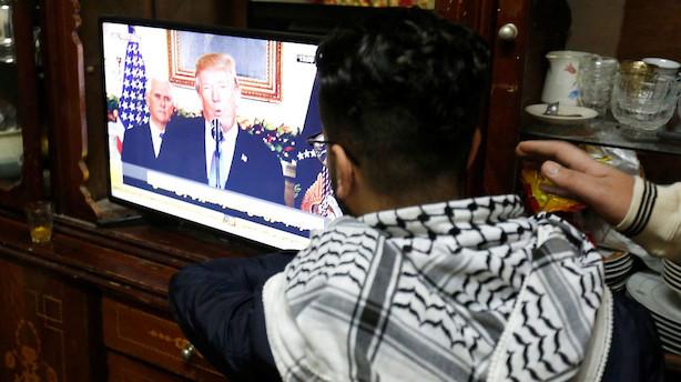 Professor: Trump tager en chance med Jerusalem-udmelding