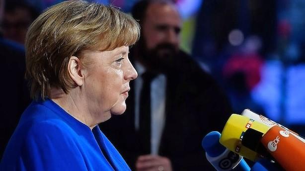Medier: Merkel har fået håndslag på ny regering