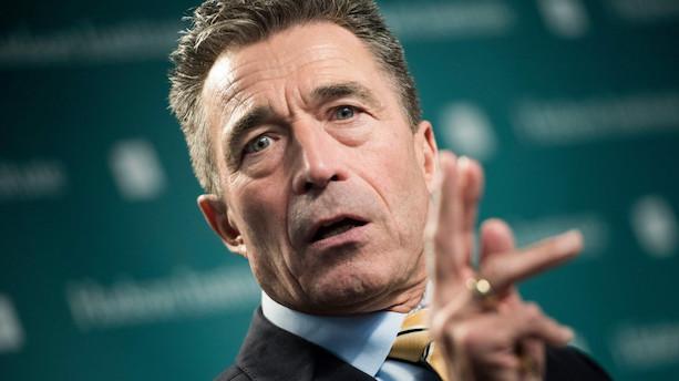 Fogh Rasmussen: Europa er selv skyld i migrantstrømmen