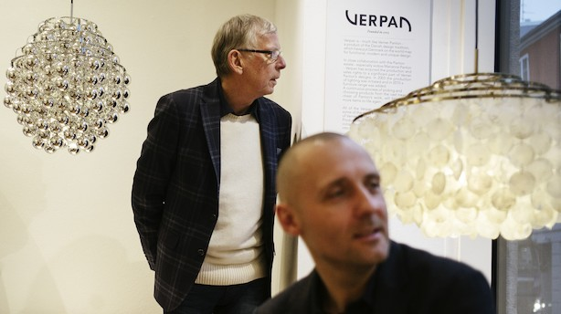 Verner Panton løfter Frandsens lampevirksomhed til rekordresultat