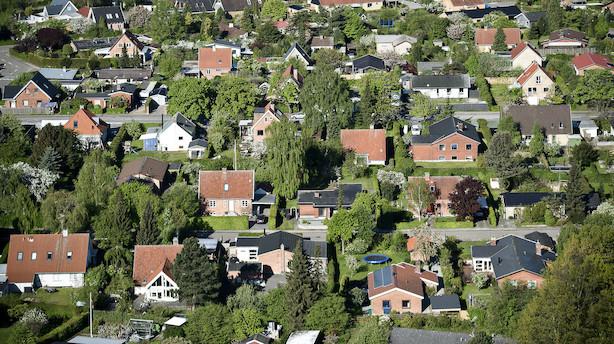 Højere priser får udbud af lejligheder til at stige i byerne