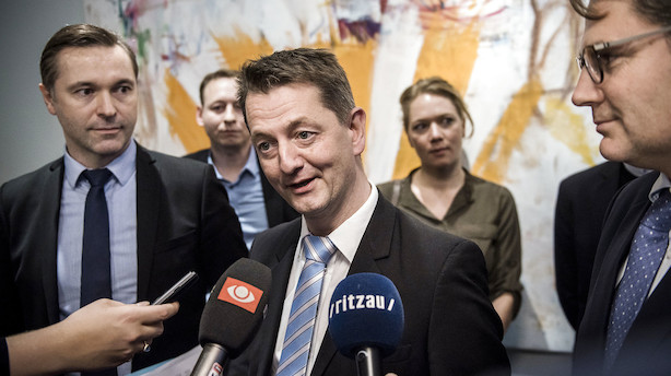 """Venstre: """"Helt naturligt"""" at diskutere ny bestyrelse for Finanstilsynet"""